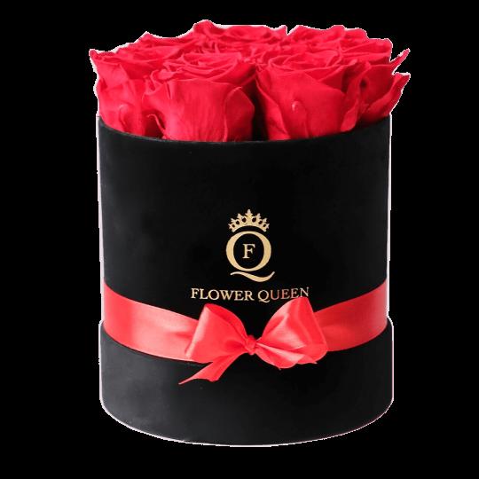 8c8d74df9fb734 Wieczne róże w pudełku cena - pudełko róż - pudełko z różami ...